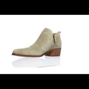 Franco Sarto Suede Beige Boots